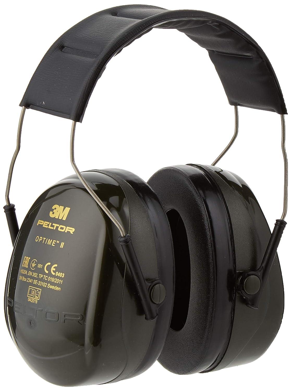 1 unidad//caja 3M Peltor H520B-408-GQ Orejeras de protecci/ón negro