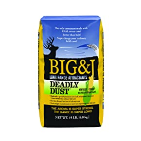 BIG&J Deadly Dust Sweet Corn Deer Attractant
