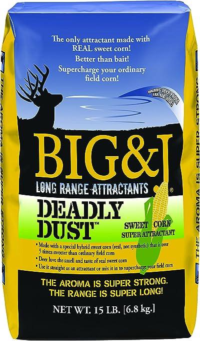 Big&J Deadly Dust Sweet Corn Deer Attractant