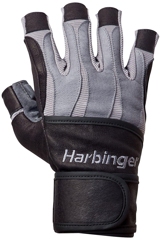 Harbinger da uomo con Bio-forma heat-activated imbottito Palm guanti da sollevamento pesi