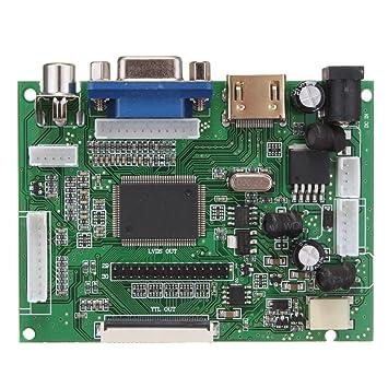 ILS - Tarjeta controladora LCD Kit Montaje DIY para 1366 x 768 15 ...