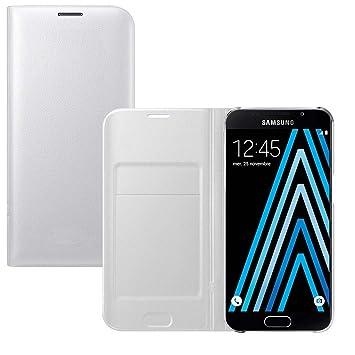 Lincivius Funda Samsung A5 2016 [Flip Cover] Carcasa Samsung Galaxy A5 2016 Proteccion con Tapa A Libro Estuche Resistente Anti Golpes Accesorios