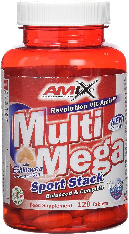 Amix Multi Megastack 120 Tabl 1380 g: Amazon.es: Salud y cuidado personal