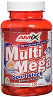 Amix 8594159532779, Multi Mega Stack Vitaminas y Minerales, 68 gr