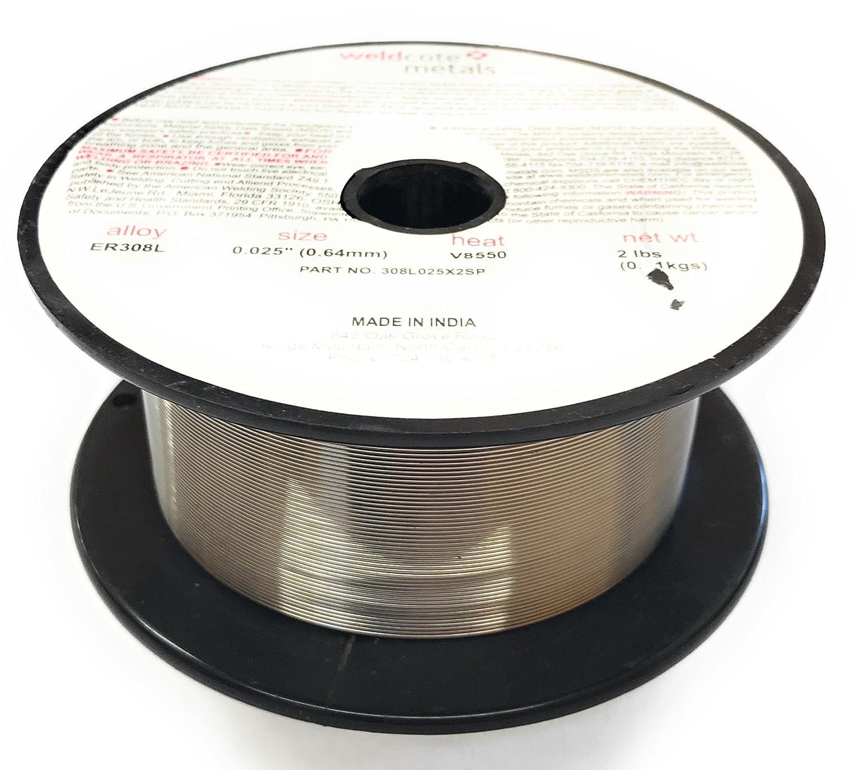 Weldcote Metals 308L Stainless Welding Wire .025\