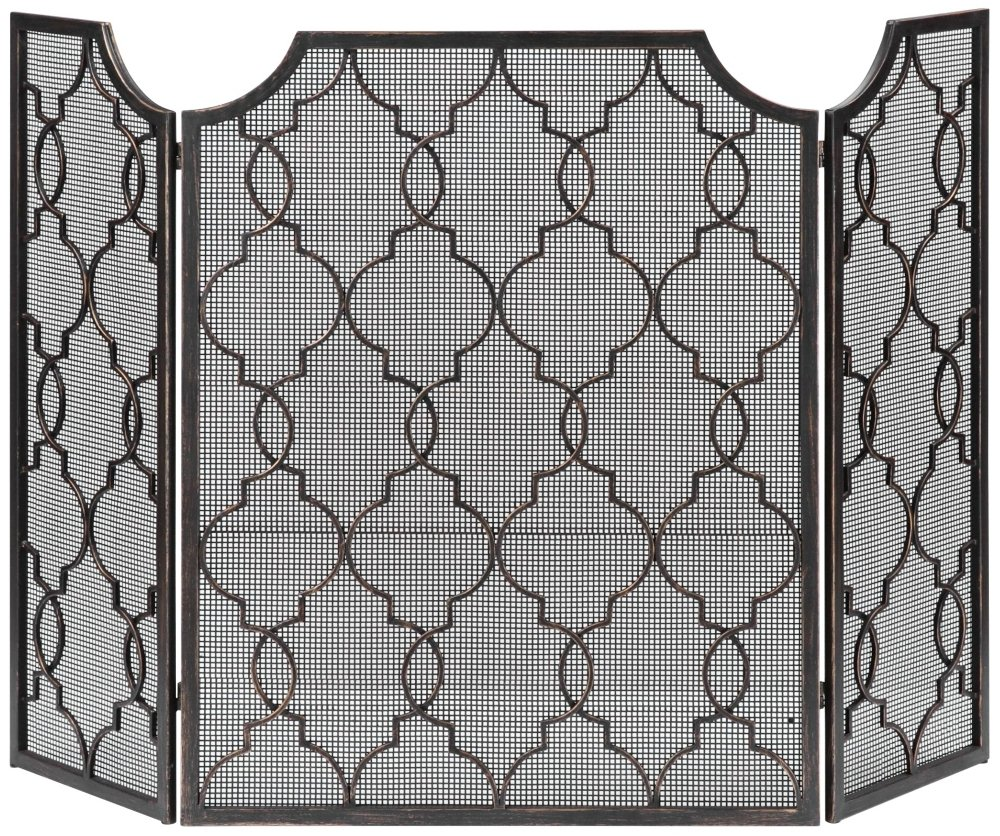 amazon com uttermost 19915 charlie fireplace screen home u0026 kitchen