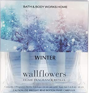 Bath and Body Works Winter Wallflower Refill 2 Bulbs