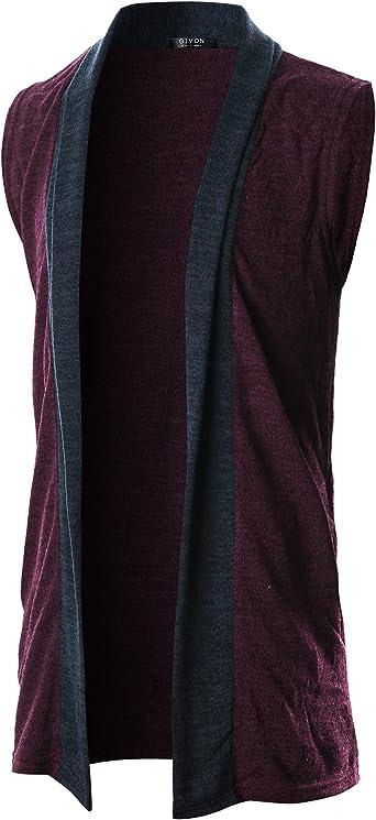 GIVON Entalladas Hombre Manga Corta Oxford Botón Casual Camisa Con Dcc041- Púrpura Pequeño: Amazon.es: Ropa y accesorios