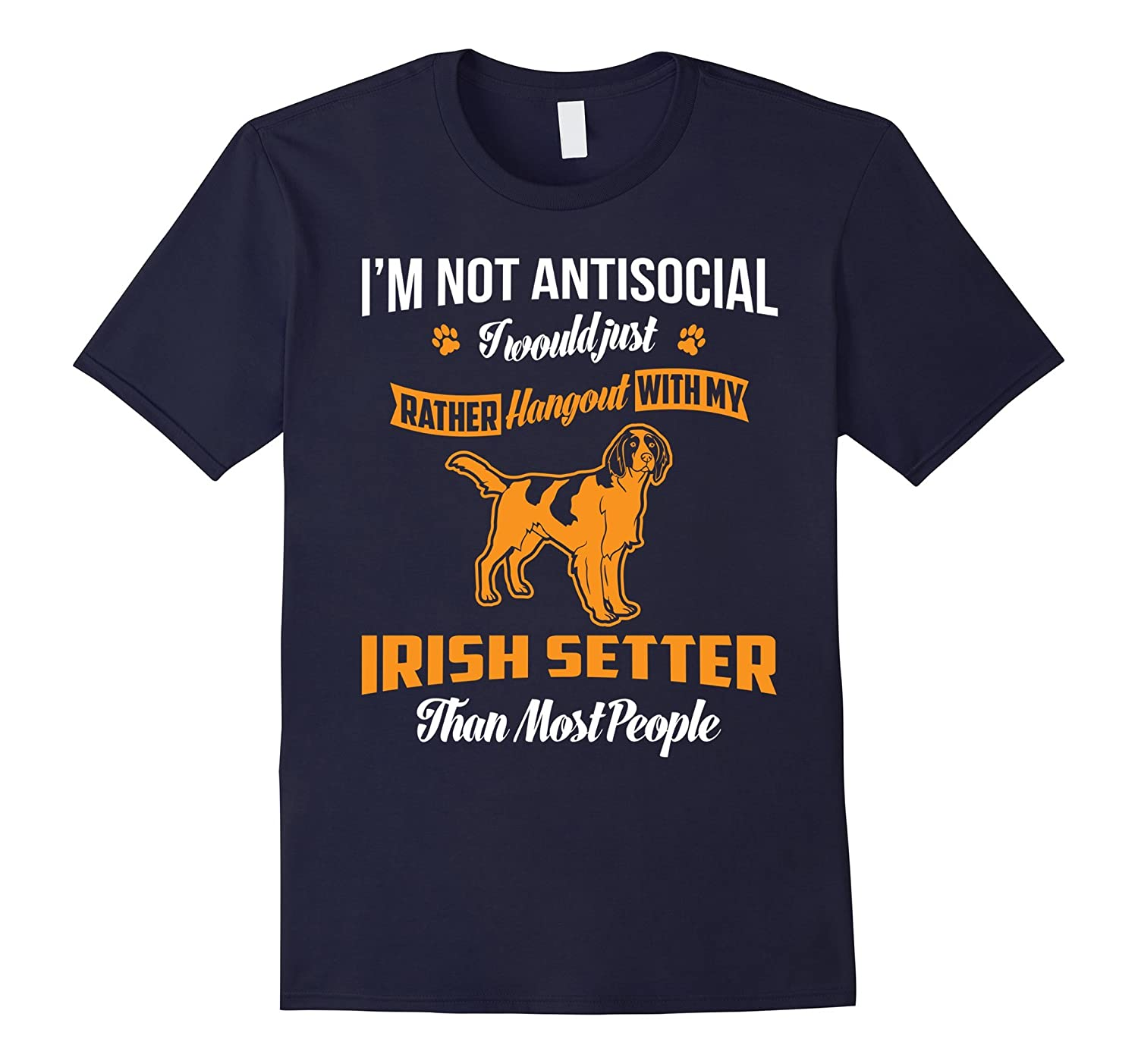 Hang Out With My Irish Setter T-Shirt-Art