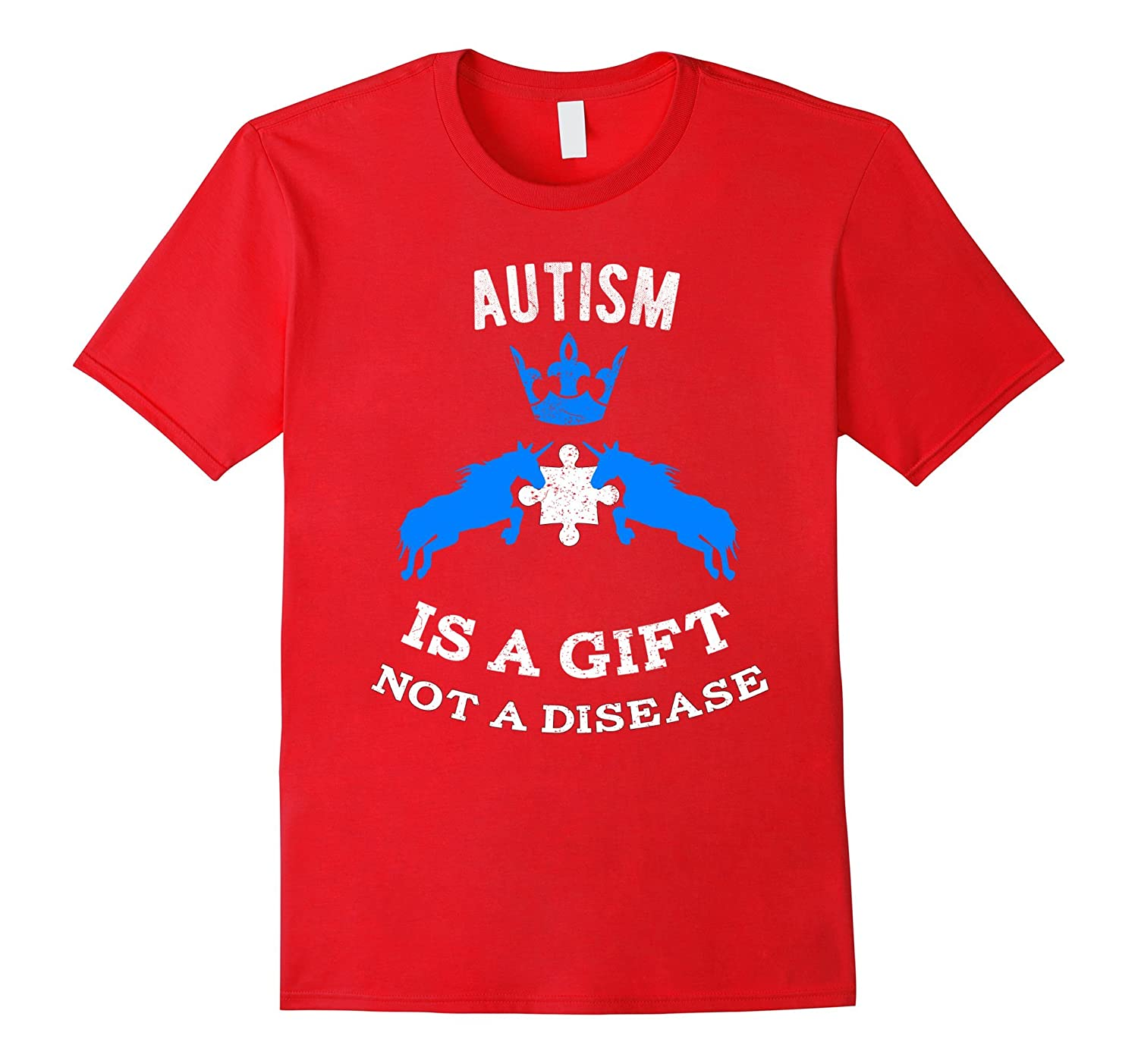 Autism Is A Gift Not A Disease - Autism Awareness T-Shirt-TH
