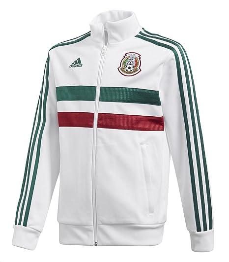 75676fb00 Amazon.com: adidas Kids Soccer 3 Stripes Mexico Track Top: Clothing
