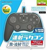 Wii用連射ホールド機能搭載コントローラ『連射ラクコン (ブラック) 』