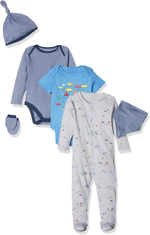 Mothercare Baby Boys Little Blocks Romper