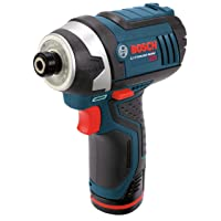 Deals on Bosch 12-Volt 1/4-in Cordless Variable Speed Impact Driver & Soft Case