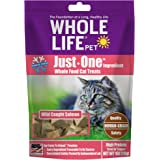 Whole Life Pet Just One-Single Ingredient Freeze Dried Treats for Cats Pure Salmon Fillet 1oz