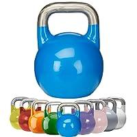 Gorilla Sports Kettlebell Competition 8-40 kg Stahl – Wettkampf Kugelhantel