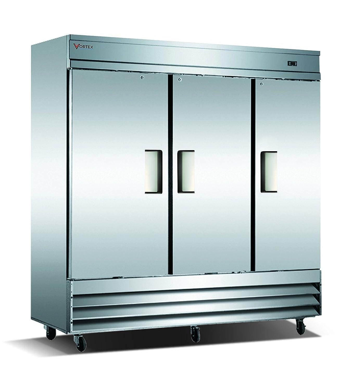 Amazon.com: Vortex Refrigeration Commercial Heavy Duty 3 Solid Door ...
