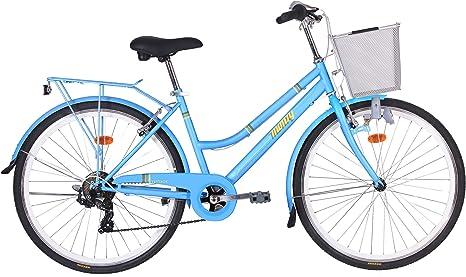 Monty Vintage Bicicleta de Ciudad, Unisex Adulto, Azul, Talla ...