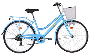 Monty Vintage Bicicleta de Ciudad, Unisex Adulto, Azul, Talla Única: Amazon.es: Deportes y aire libre
