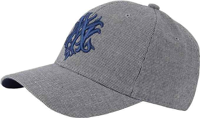 G59 Mens Houndstooth Pattern Plus Size XL XXL Big Ball Cap Baseball Hat Truckers