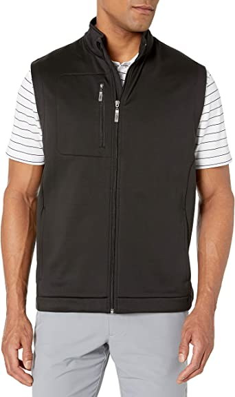 Golf mens outerwear vest invested in fractional ownership of mall