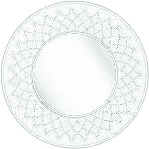 Baci Acrylic Serving Plates, Clear