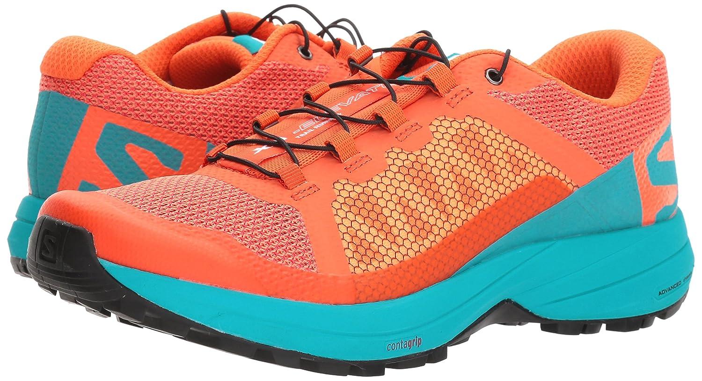 Salomon XA Elevate Running Shoe - Women's B074KJLRZD 8.5 B(M) US Nasturtium., Blue Bird, Black