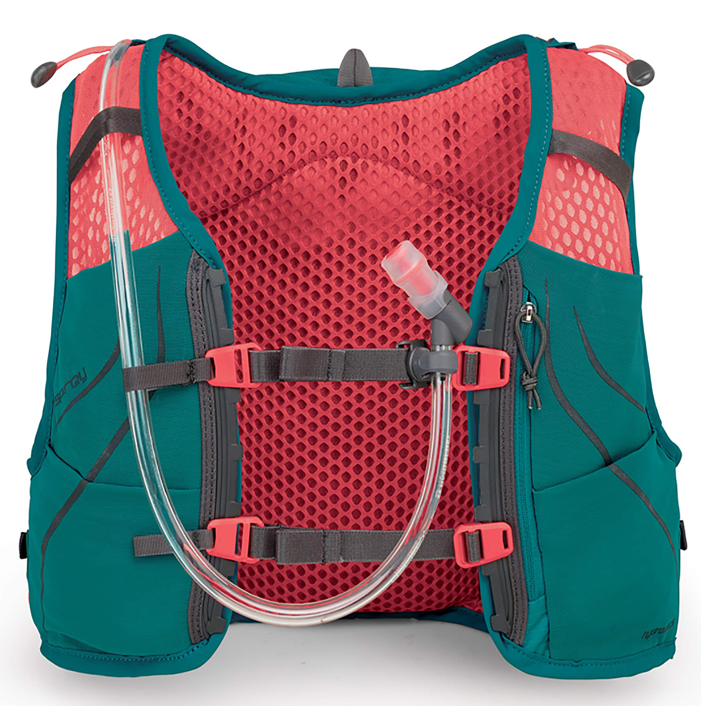 Osprey Packs Dyna 1.5L Women's Running Hydration Vest, Reef Teal, WXS/Small by Osprey (Image #3)