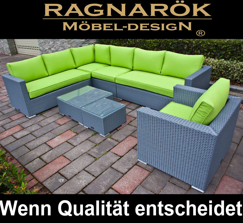 Polyrattan Lounge Deutsche Marke Eignene Produktion 7 Jahre
