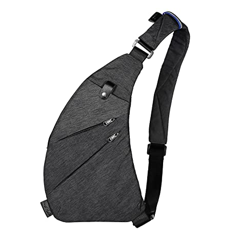 41403f885 TOPNICE Sling Back Pack Shoulder Chest Crossbody Bags Lightweight Casual  Outdoor Sport Travel Hiking Multipurpose Anti