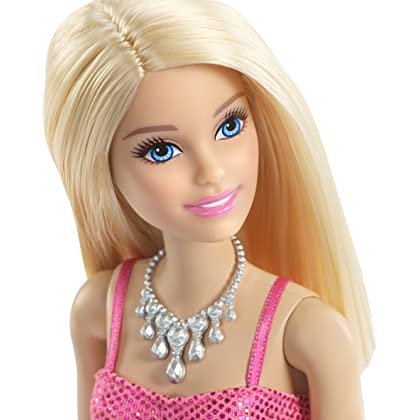 Barbie Glitz Doll, Pink Dress