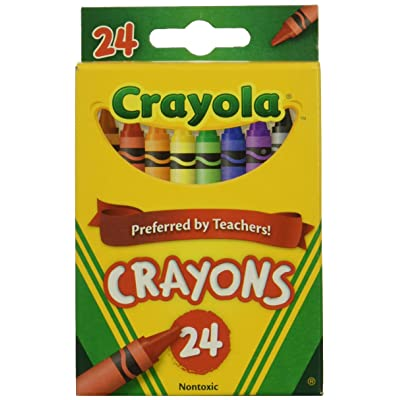 Wholesale: One Case of Crayola Crayons 24 Count (Case Contains 48 Boxes), Standard: Toys & Games