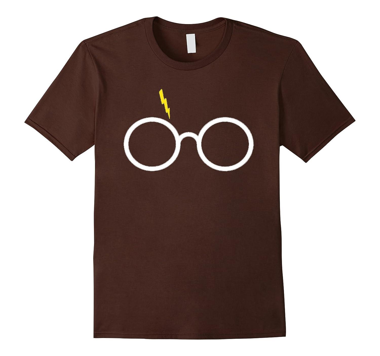 Glasses and Lightning T-shirt 2016-Art