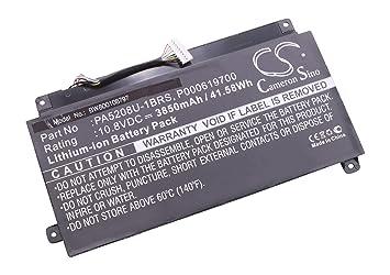 vhbw Li-Ion batería 3850mAh (10.8V) para Notebook Ordenador portátil Toshiba Chromebook CB35-B3340, CB35-B3330 por PA5208U-1BRS, P000619700.