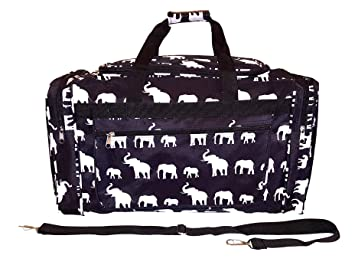 7deb581ac0 Image Unavailable. Image not available for. Color  21 inch Fashion Print  Gym Dance Cheer Travel Duffle Bag ...
