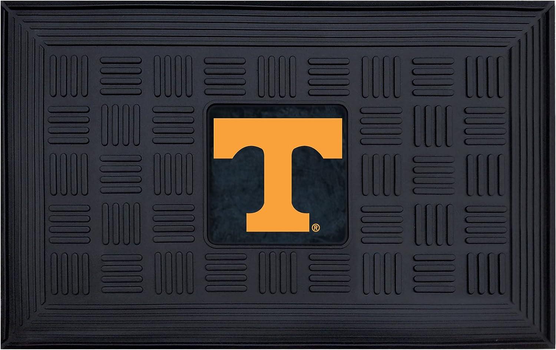 """FANMATS 11383 NCAA University of Tennessee Volunteers Vinyl Door Mat Multi, 19""""x30"""""""