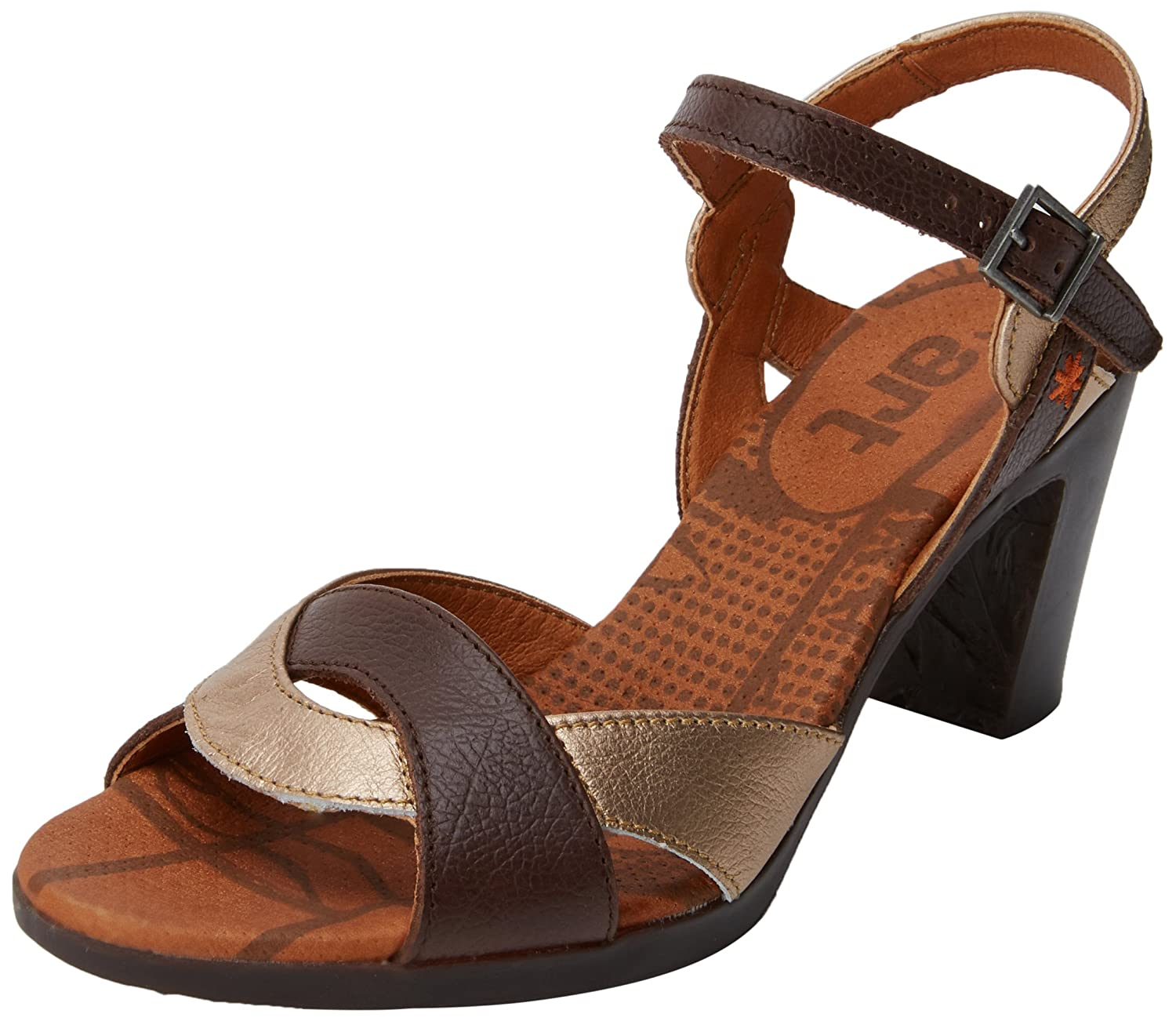 Art Memphis 0279 Memphis Marron Rio, Sandales Rio, Bout Ouvert Femme Marron (Brown) 3618a81 - boatplans.space