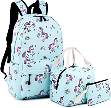 Amazon Com School Backpack For Girls Cute Bookbag Laptop
