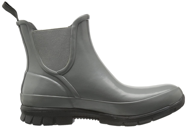 Bogs Women's Amanda Slip on Solid Rain Boot B01J6T4XJY 9 B(M) US|Gray