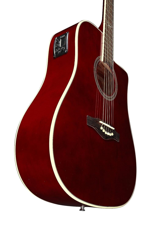Black EKO Guitars 06217009 NXT D CW EQ Dreadnought Cutaway Electro-Acoustic Guitar