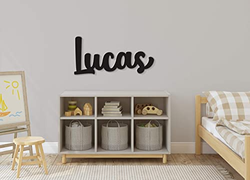 nursery decor instant preview children/'s decor wood name sign Stacked Custom name sign 18-42 wide nursery letters nursery sign