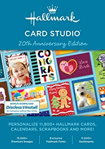 Hallmark Card Studio-- New Version