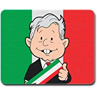 MOUSE PAD GAMER AMLO, 27 x 21 cm, BASE ANTIDESLIZANTE, SUPERFICIE DE PRECISIÓN OPTIMA
