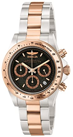 860e97bc3 Invicta Men's 6932 Speedway Professional Collection 18k Rose Gold-Plated  and Stainless Steel Watch