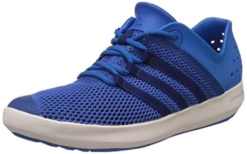 Buy Adidas Men's Climacool Boat Pure Blue and White Mesh Running ...