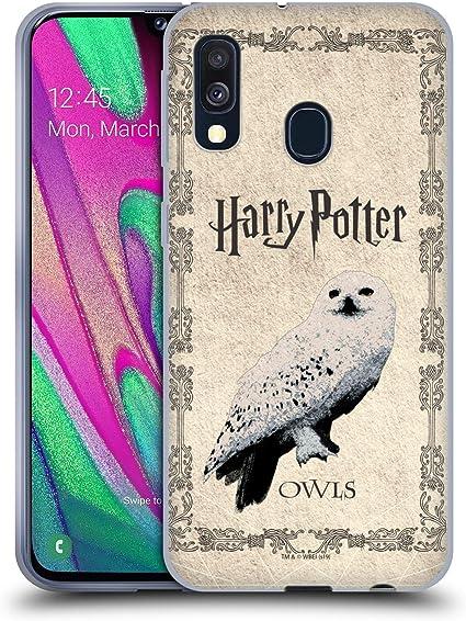 Officiel Harry Potter Hermione Poster Prisoner Of Azkaban IV Coque en Gel molle pour Samsung Galaxy A40 (2019)