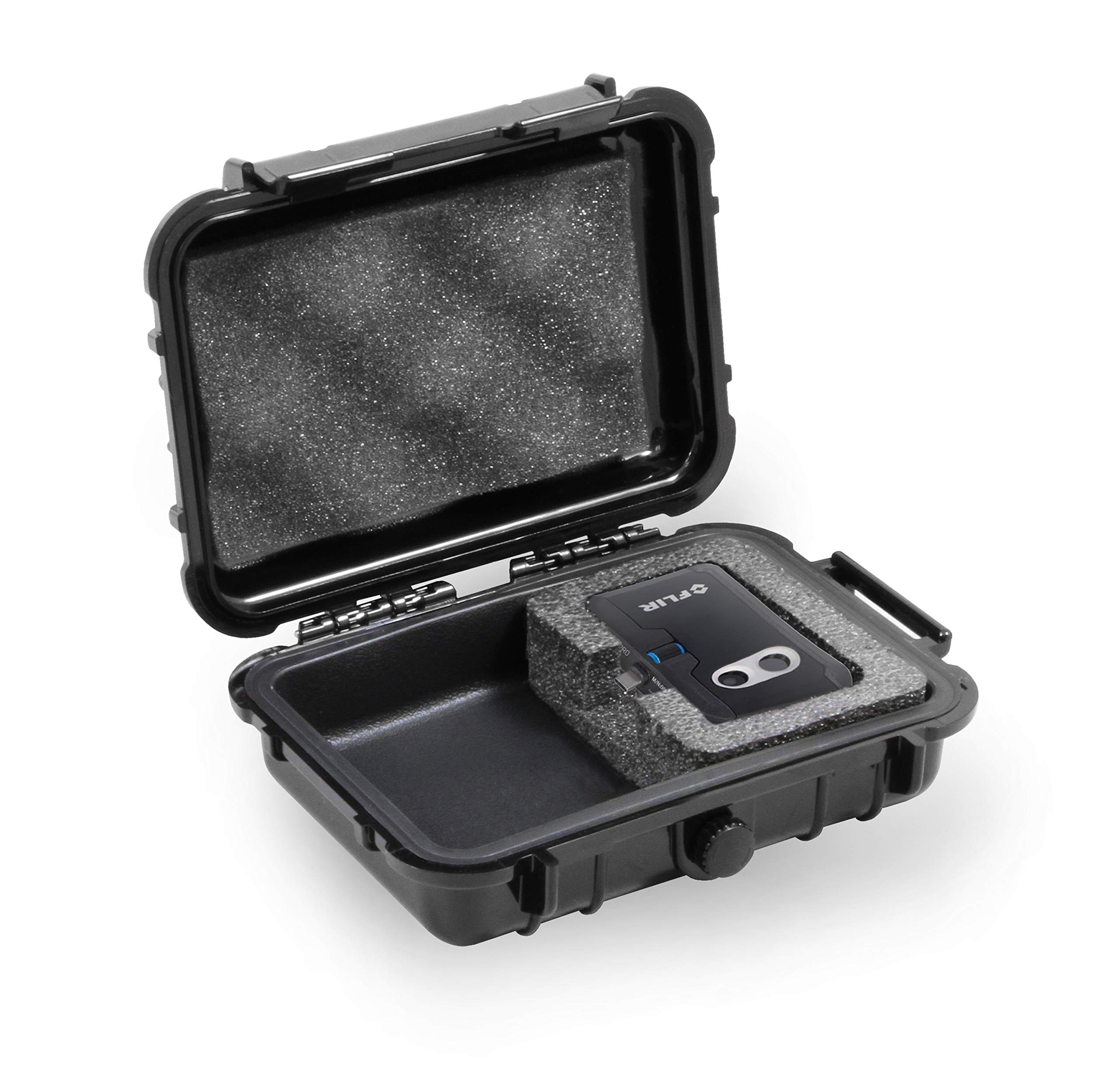 CASEMATIX Waterproof Case Fits Flir ONE PRO Thermal Imager for iOS iPhone, Android Smartphone, USBC, USB-C and Accessories - Rugged, Impact Resistant