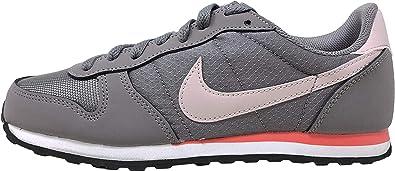 precoz ganso Rectángulo  Amazon.com: Nike Genicco Zapatillas Casuales para mujer, Gris, 10 M US:  Shoes