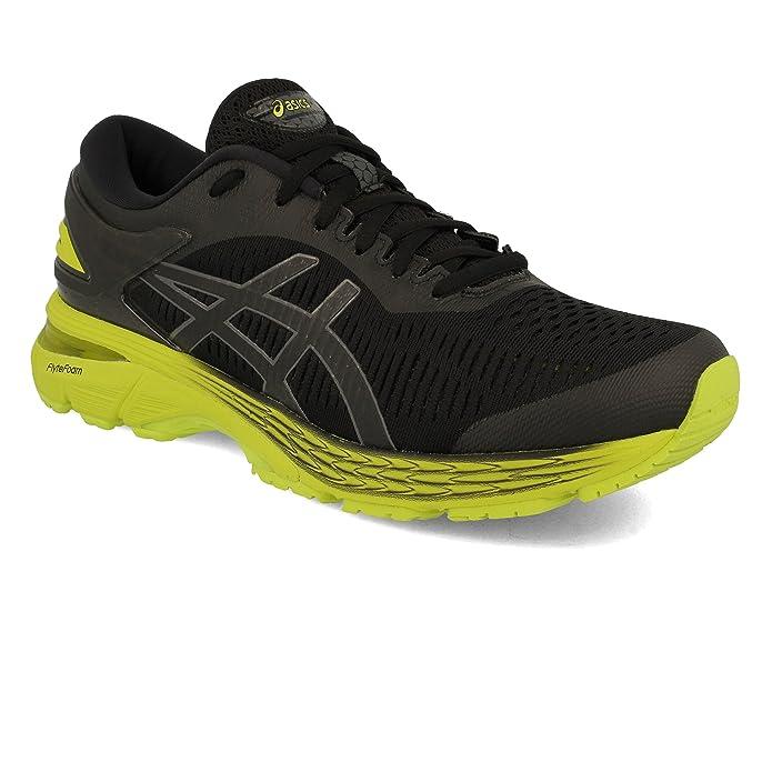 9de1b2cbc Asics GEL-Kayano 25 2E Men Running Shoes Black Neon Lime 1011A029-001