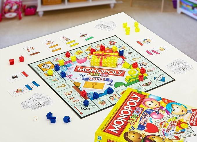 Hasbro Monopoly Junior - Juego de Tablero (Multi): Amazon.es: Juguetes y juegos